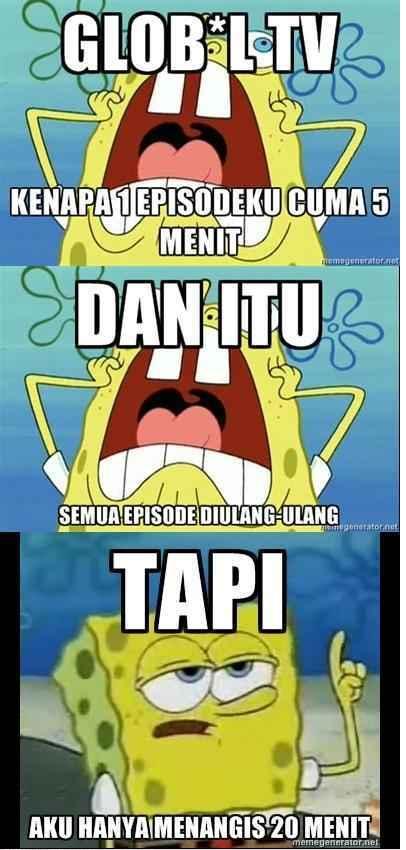 Kumpulan Gambar Lucu Karakter Spongebob Squarepants | Foto Gambar Lucu