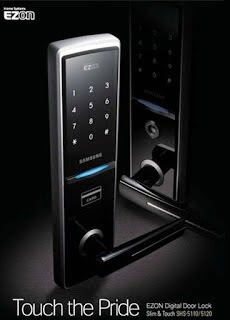 samsung ezon lock door