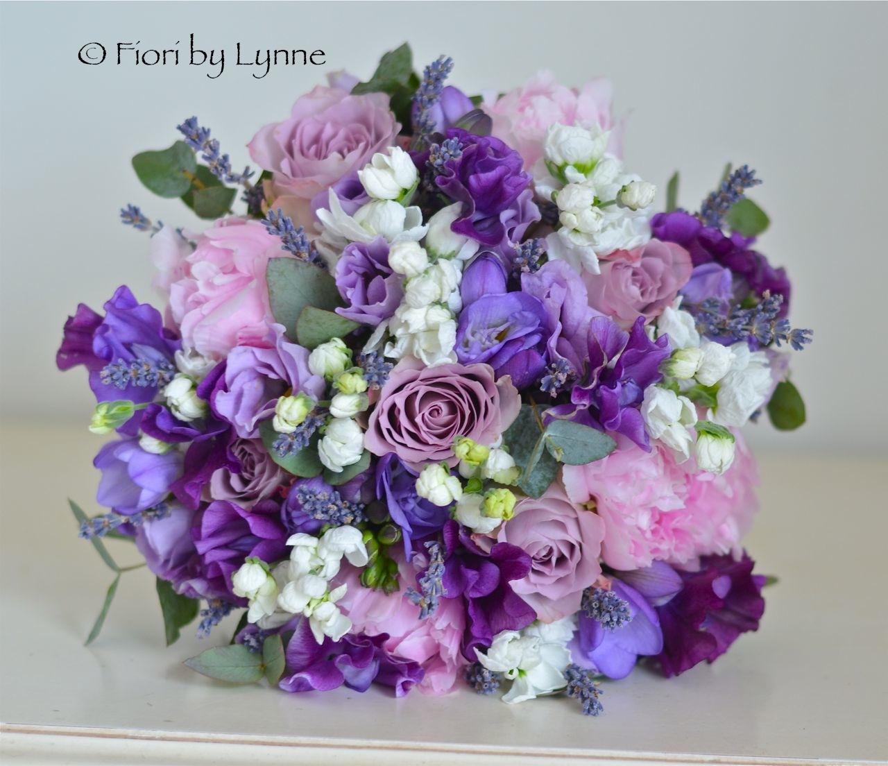 Wedding Flowers Blog: Lauren\'s Early Summer Lavender themed Wedding ...