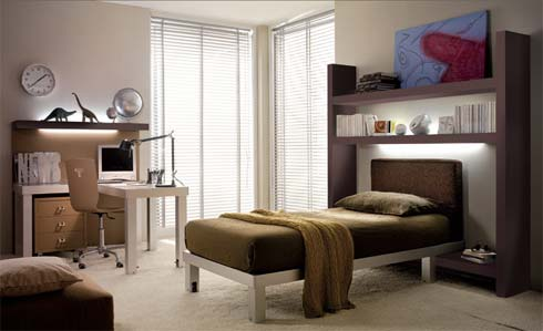 Kids-Bedrooms-Design-Ideas-With-Brown-Color-Creation