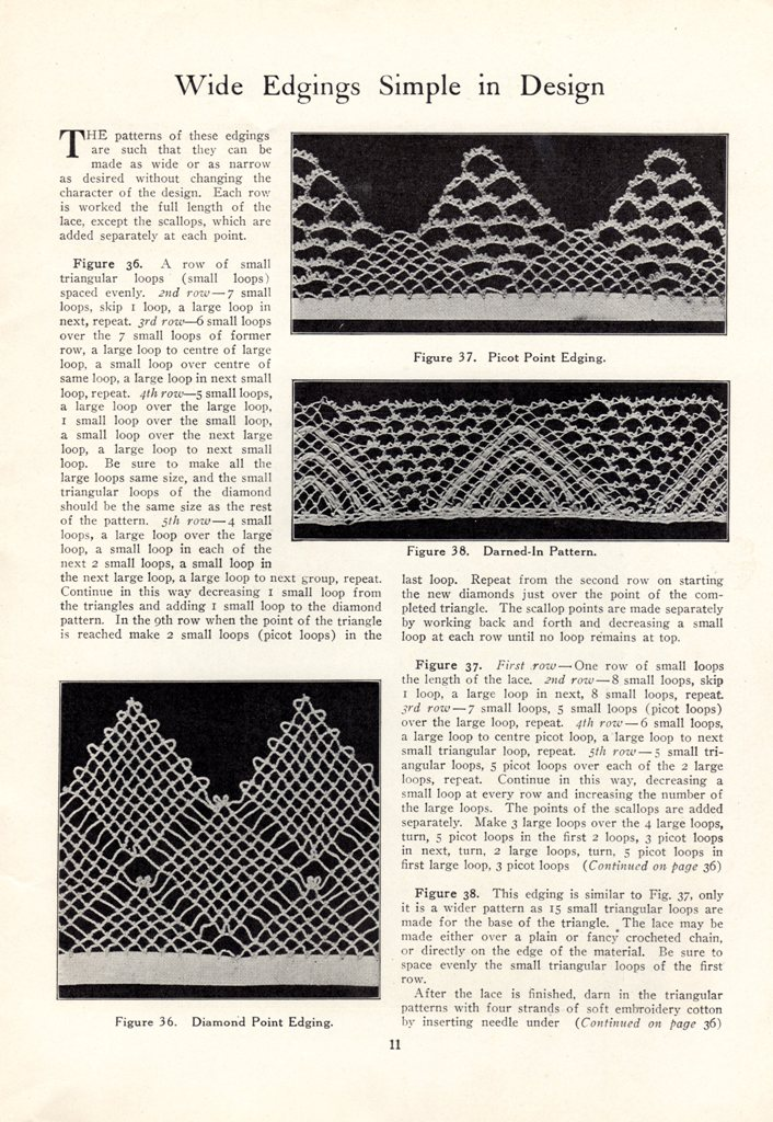 how to make turkish needle lace