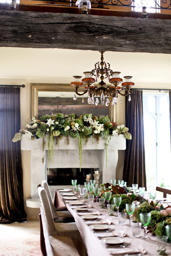 I was stunned by this french country style setting created for a wedding at New Zealand. Love the table decorations the chic lace mixed with the rustic ... & A French country wedding | My Paradissi