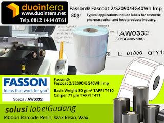 Jual Label Barcode, Stiker Barcode, Kertas Sticker Label, jual label fasson, jual stiker label