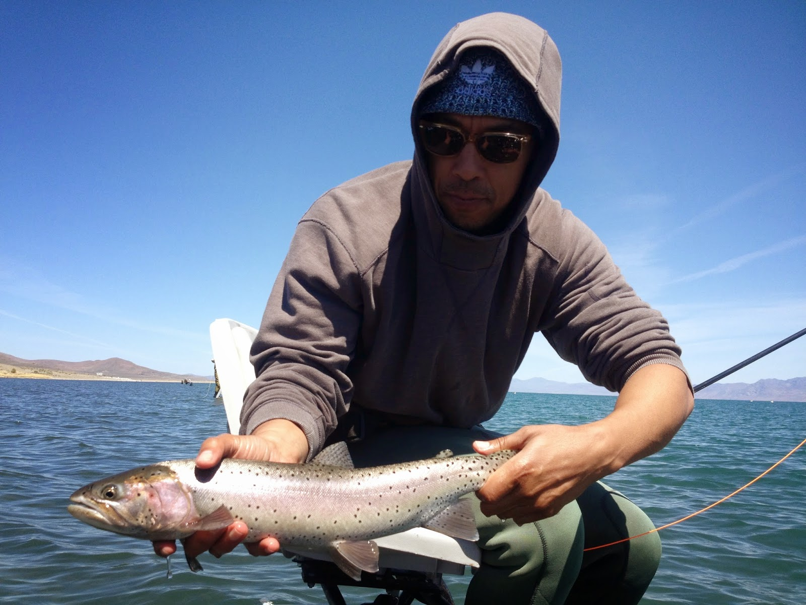 Northern Sierra Fly Fishing Pyramid Report 5 4 14