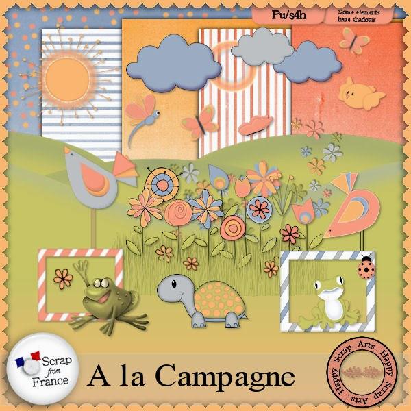 April 2015 .HSA - A La Campagne