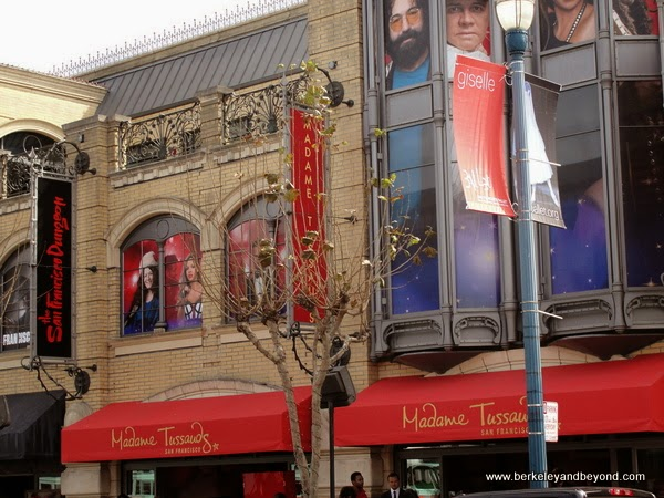 exterior of Madame Tussauds San Francisco