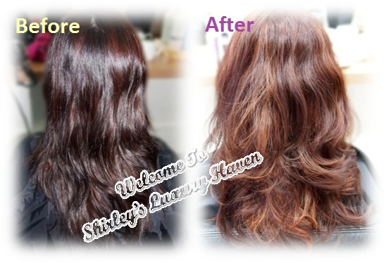 aveda hair colour