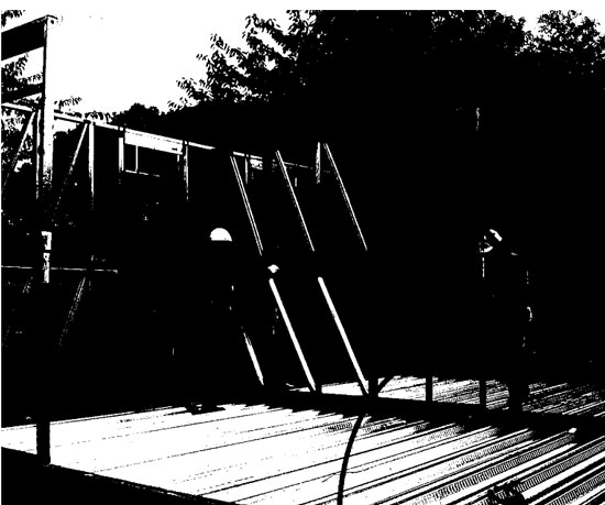 Modular construction using light steel framing