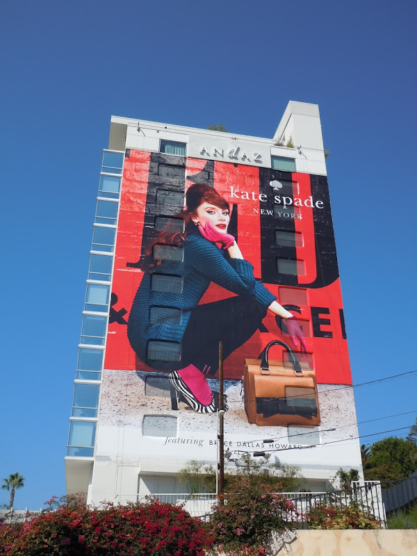 Kate Spade Fall 2011 fashion billboard