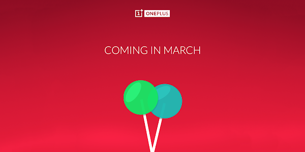 OnePlus One will be updated to Lollipop by the end of March