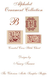 "Alphabet Ornament Collection ""B"""