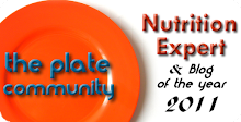 Plate Community Blogger and Nutrition Expert of the Year