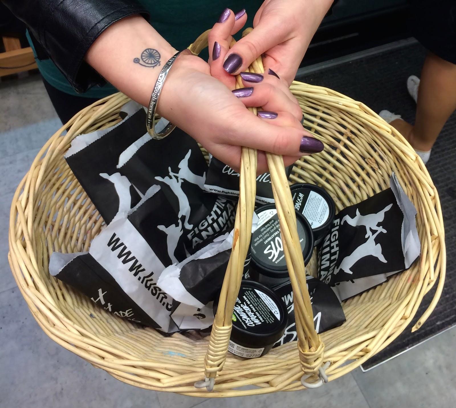 Lush Shopping Basket