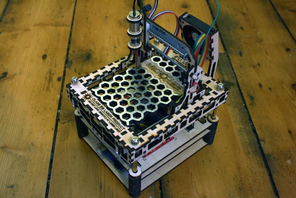 Diy d printing microslice small arduino based laser