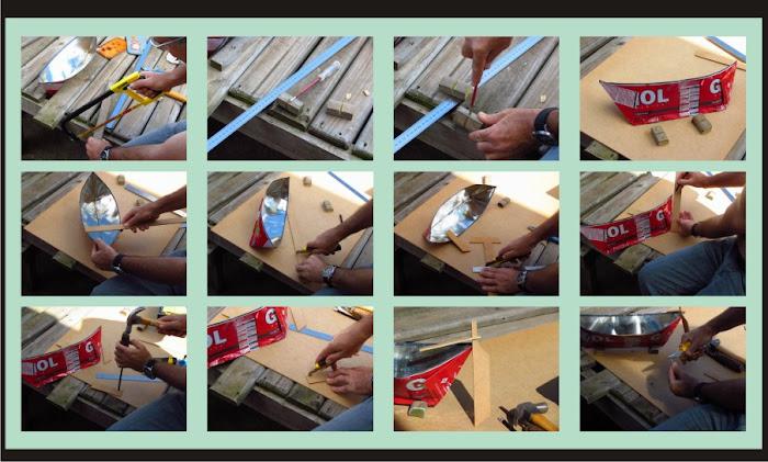 Como fazer um barco de lata - continuação