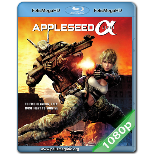 APPLESEED ALPHA (2014) FULL 1080P HD MKV ESPAÑOL LATINO
