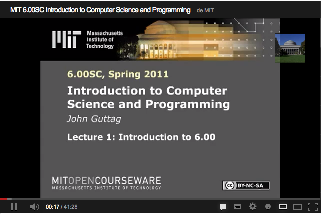 mit opencourseware computer science java 60001 introduction to computer science and programming in python represents mit's evolving approach to this core subject, in which students with little or no programming experience learn how to write small programs that accomplish useful goals 60001 is a six-week module using the python 35 programming language.