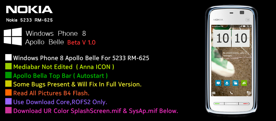 Download Cfw Untuk Nokia 5233 V21 1 004 Mediafire