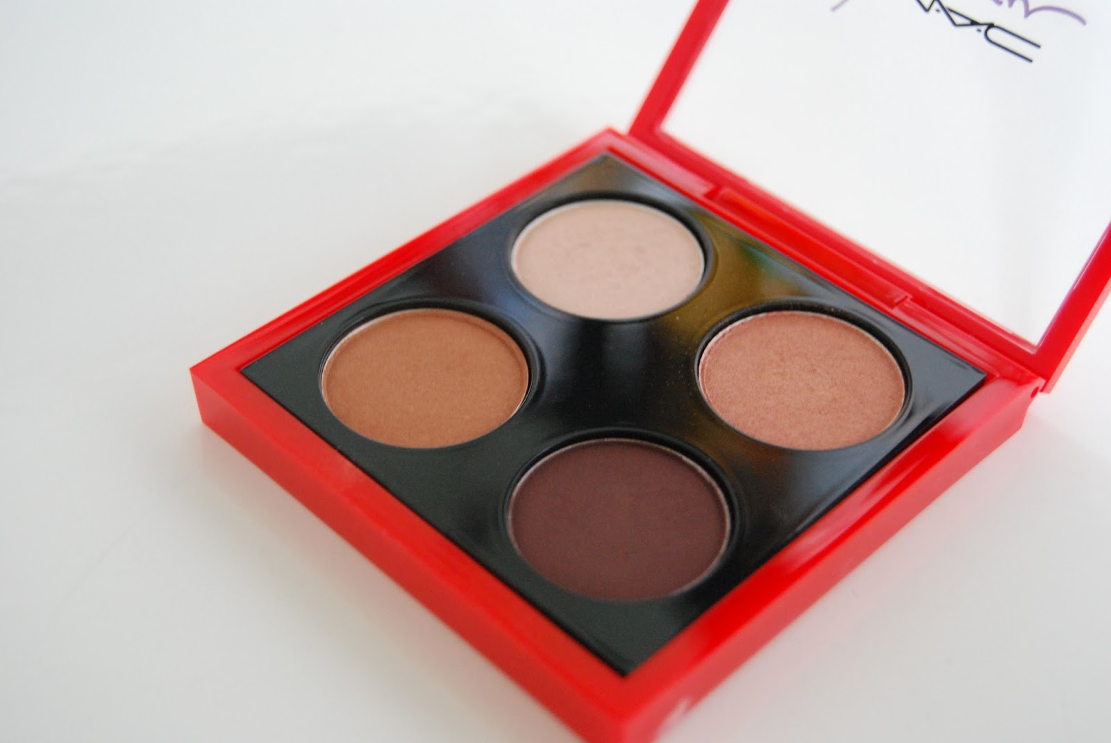 MAC Sharon Osbourne Quad Sweet Eyes Sexy Eyes Embark Femme Fatale Duchess Eyeshadow