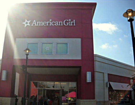 Florida Mall location American Girl Store Outside Entrance