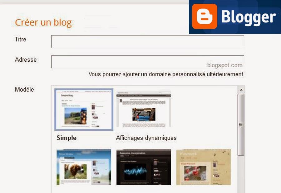 Créer un blog gratuit sans compétences informatiques avec Blogger.