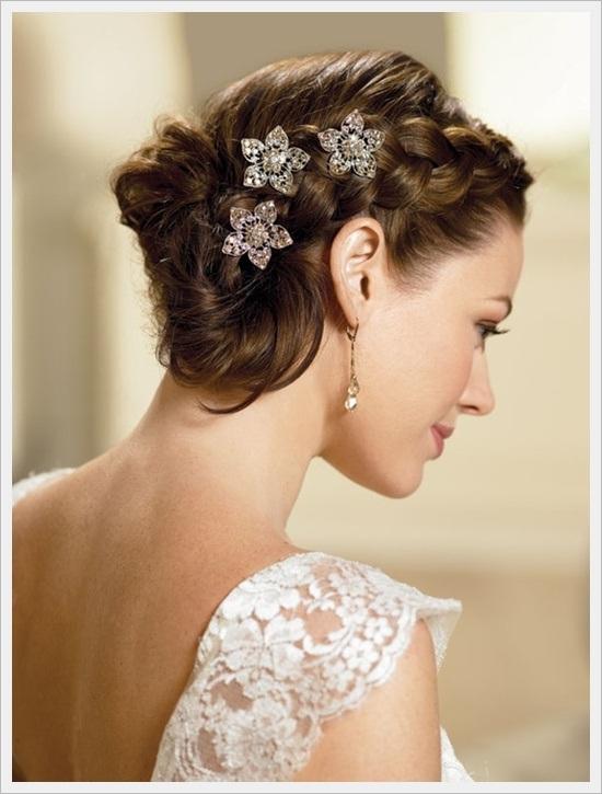 Bun Hairstyles For Brides