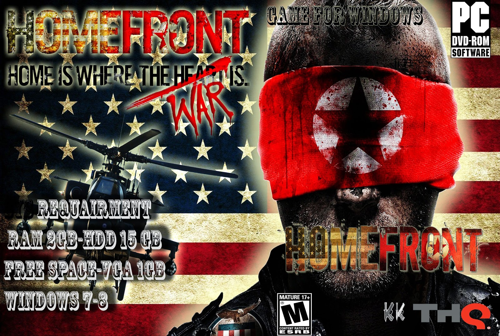 Capa Homefront PC