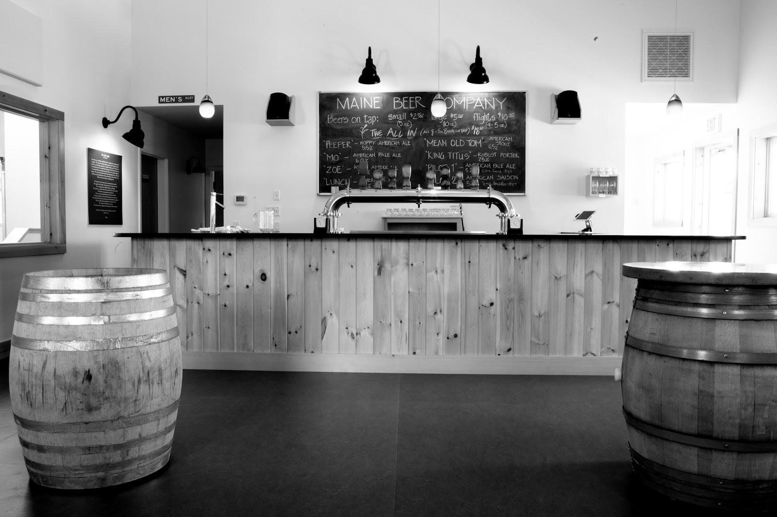 White apron ale - Freeport Taproom Photo Credit Nathan Eldridge