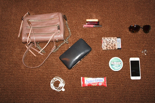 rebecca, minkoff, bag, mini, 5, zip, whats, in, my, bag