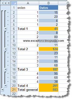 La herramienta Seleccionar celdas visibles en Excel