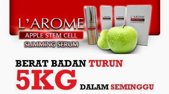 L'AROME APPLE STEM CELL SLIMMING SERUM ORIGINAL MURAH ...