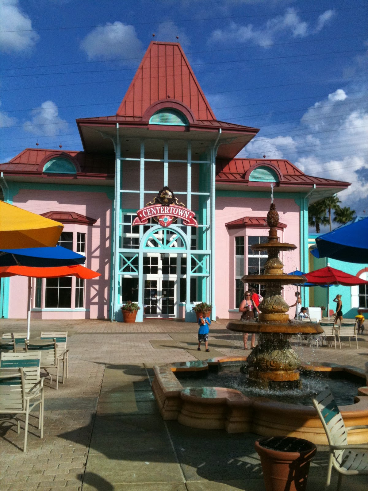 You Will Find Pastel Colonial Architecture Lush Palm Trees White Sand Hammocks To Relax In At The Caribbean Beach Resort