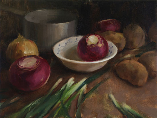 Best-jzaperoilpaintings-Still-Life-with-Turnips-Oil-Paintings-Image