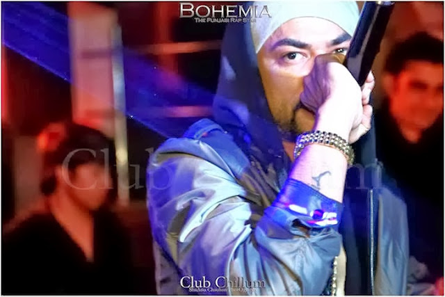 BOHEMIA THE PUNJABI RAP STAR - LIVE CLUB CHILLUM 3