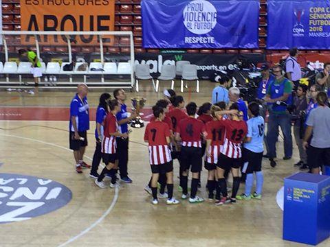 EL GIRONELLA/ESPLUGUES CAMPION DE CATALUNYA. GUANYA AL RUBI 2-1