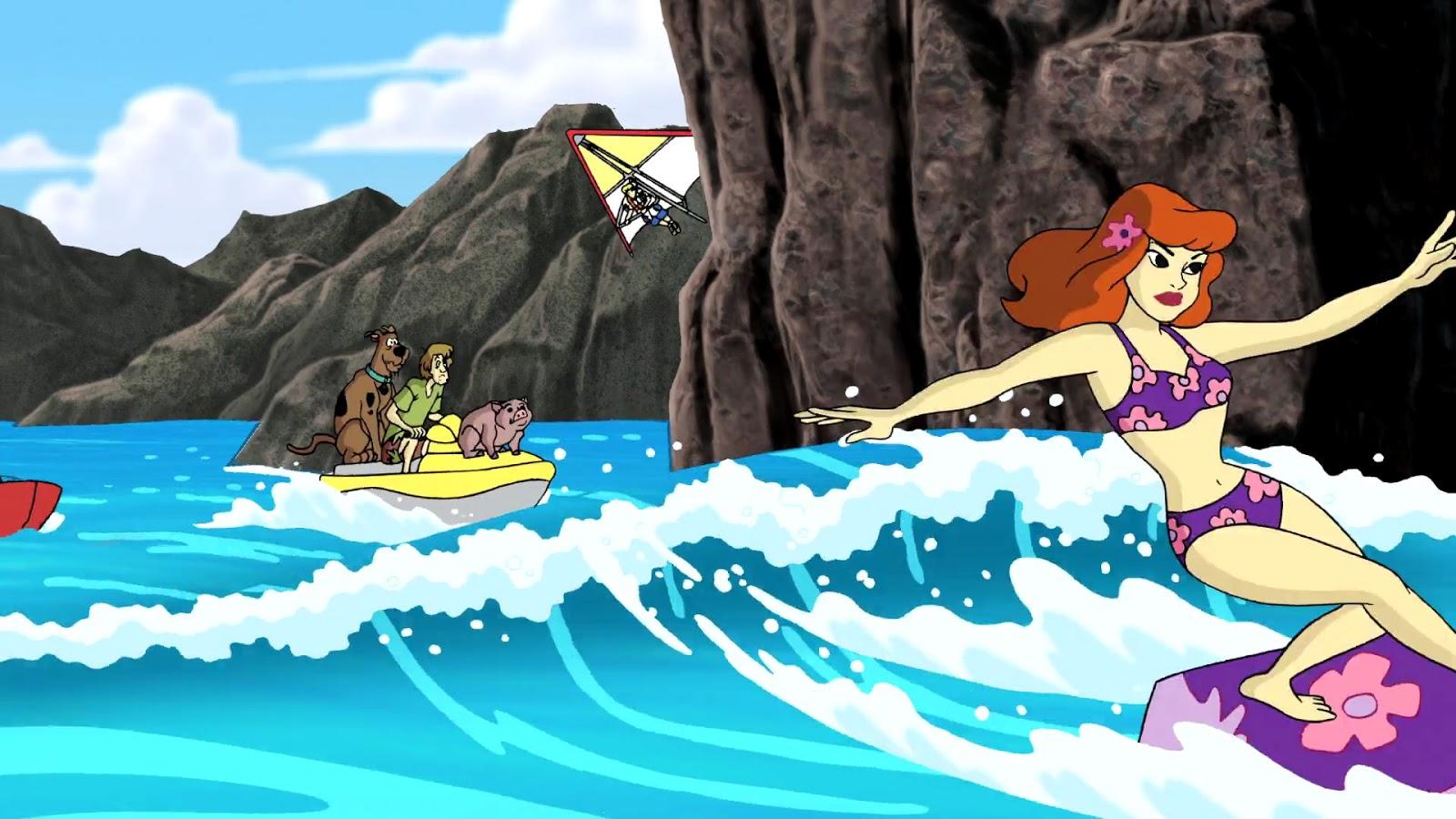 Scooby doo daphne aloha