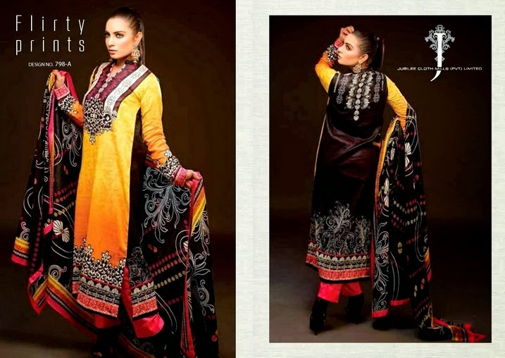 Jubilee Lawn Prints in Chunri Collection