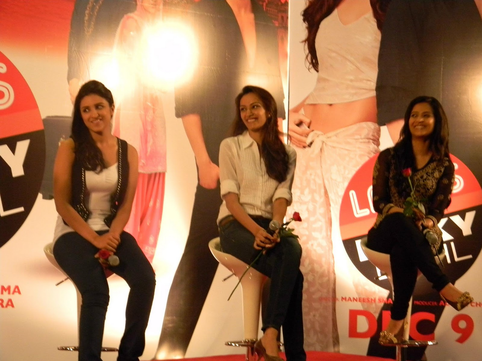 launch of 3 ladies event images ladies vs ricky bahl