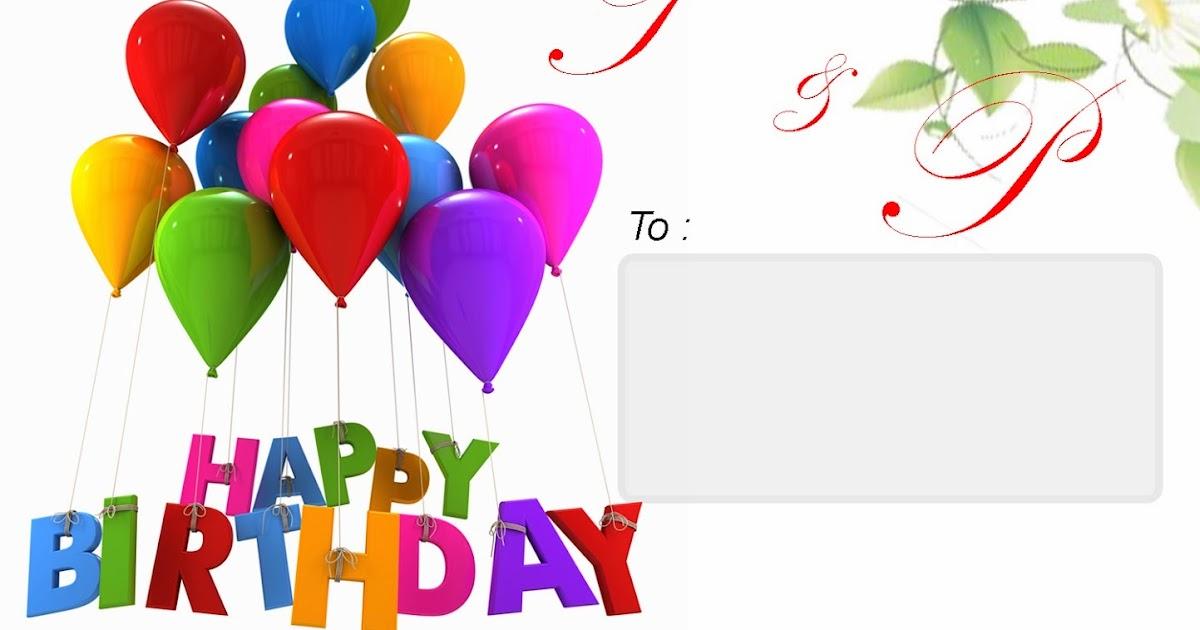 download undangan ulang tahun anak psd wong tran