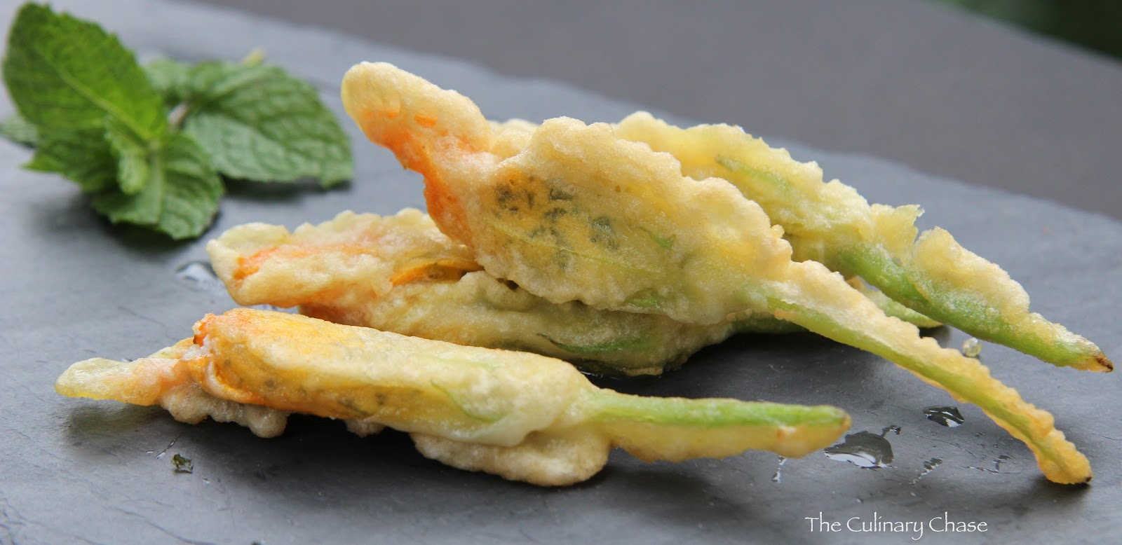 Stuffed Zucchini Flowers (Fiori di Zucca Ripieni) - The Culinary Chase