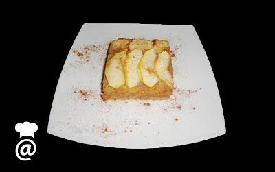Recetas Dieta Dukan - Bizcocho de Manzana y Salvado Avena