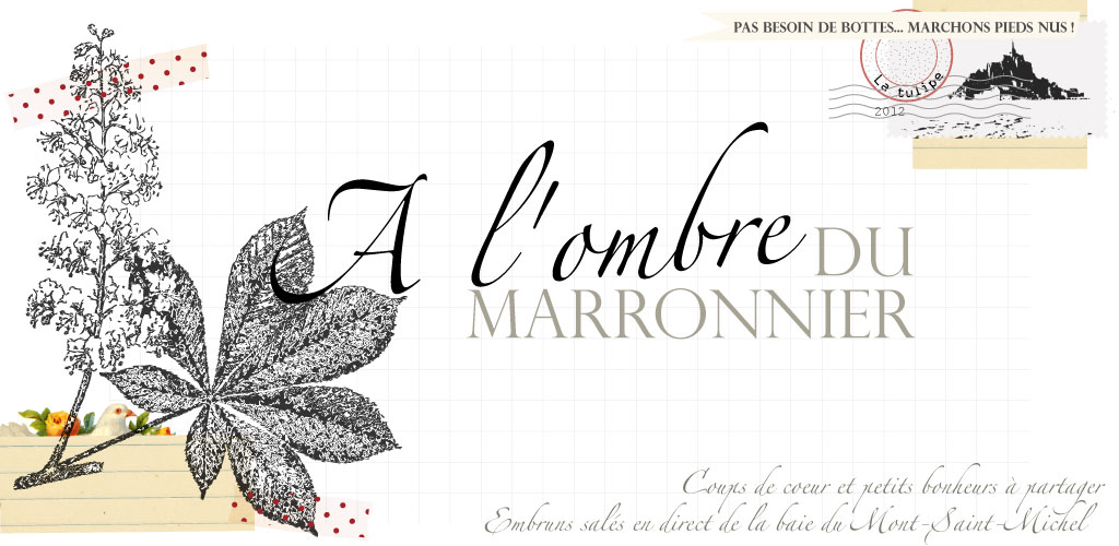 A l&#39;ombre du marronnier