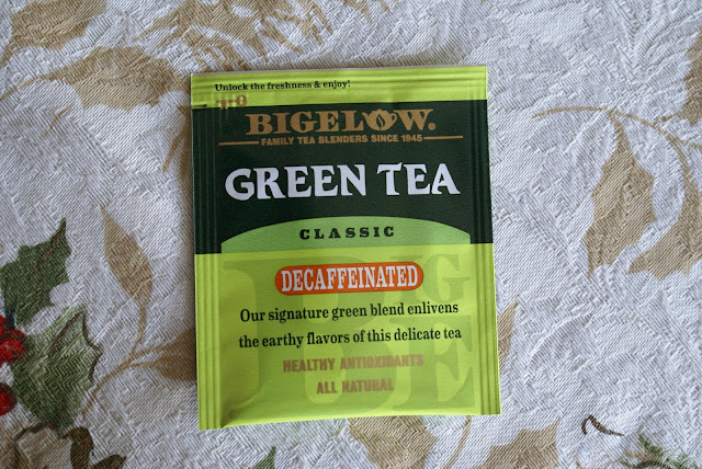 Lifestyle blogger, Tea Reivew, Bigelow, Green Tea