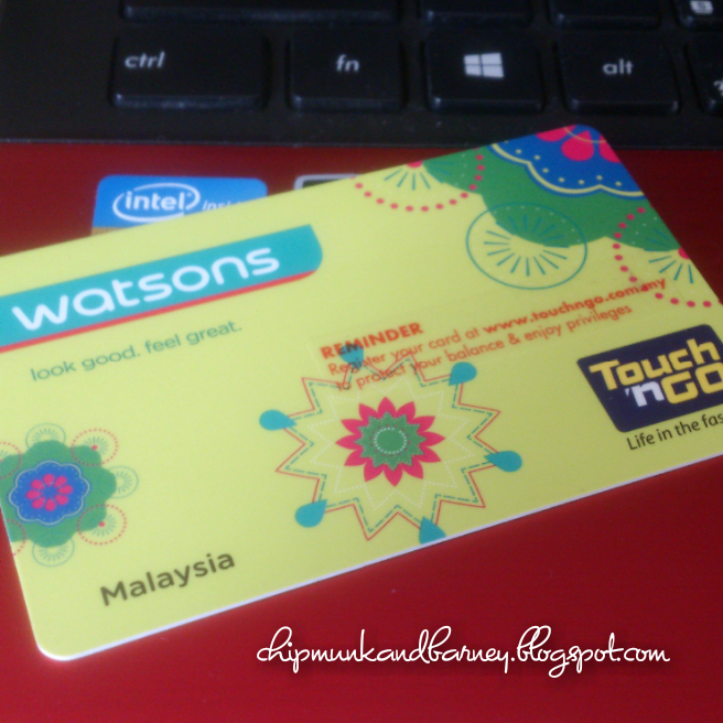 All About Life Watsons Vip Card Touch N Go