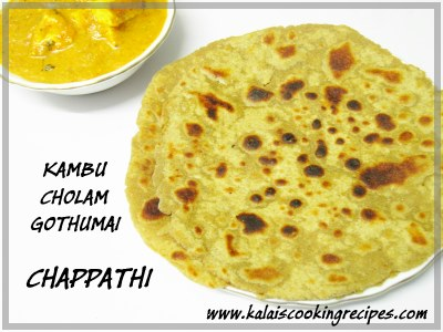 millet chapathi