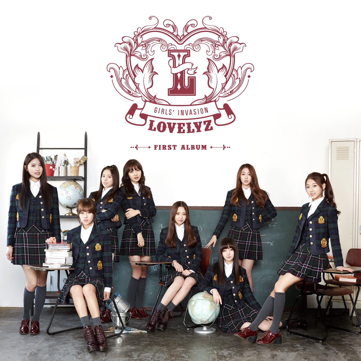 Girls' Invasion (First Album) - Lovelyz(러블리즈)