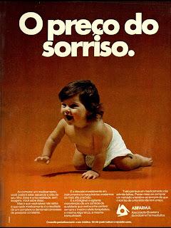 . anos 70.  1974. década de 70. os anos 70; propaganda na década de 70; Brazil in the 70s, história anos 70; Oswaldo Hernandez;
