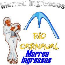 Ingressos Carnaval Rio de Janeiro