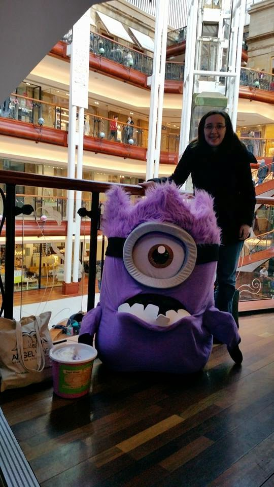 Princes Square. Glasgow. Minion