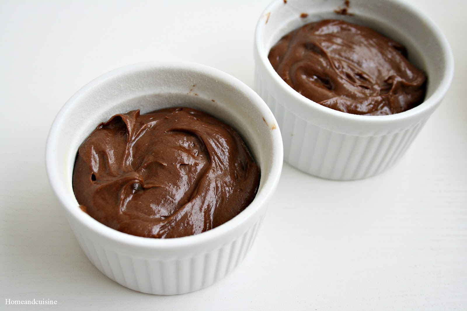 Home Style and Cuisine: Chocolate Fondant